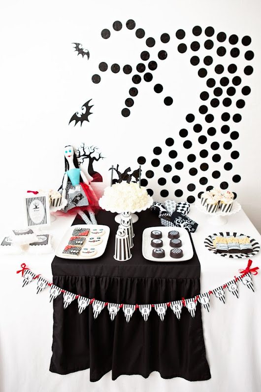 The Nightmare Before Christmas Halloween Party -