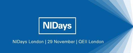 Come and see us at NIDays 2016 – London – Simplicity AI