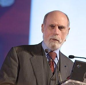Vint Cerf, North American computer scientist w...