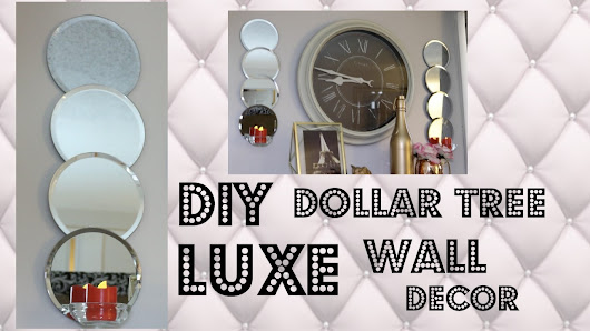These are very beautiful inexpensive diy mirror sconces for Bathroom decor dollar tree