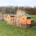 Trixie Pet Products Chicken Coop Duplex with Outdoor Run