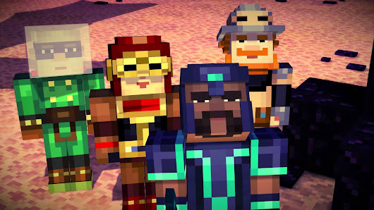 Watch the Latest Minecraft: Story Mode Trailer - 'the Order of the Stone' - Gearcraft