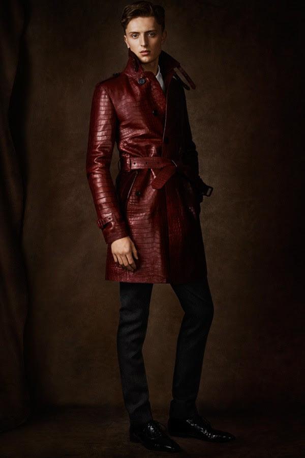 09 man alligator trench coat