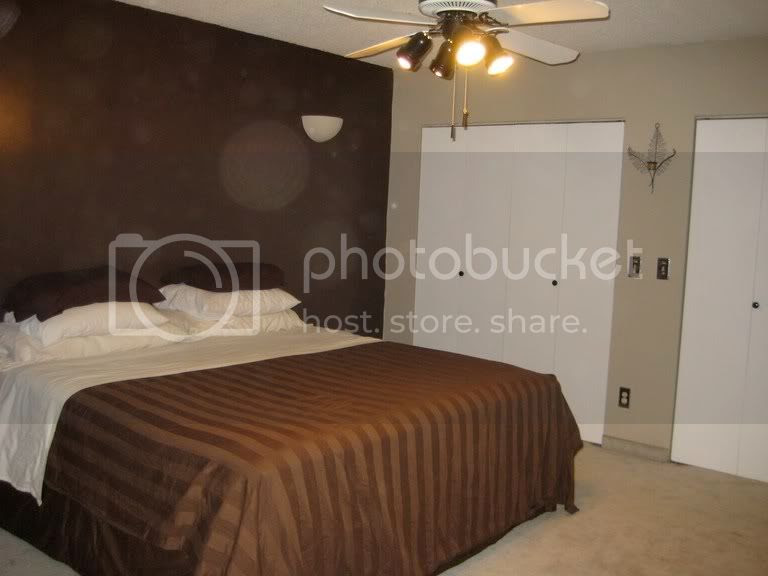 Walls With Dark Brown Accent Wall Paint