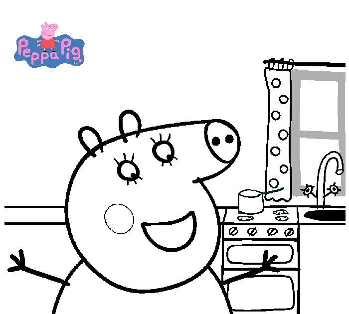 peppa wutz ausmalbilder zum drucken kostenlos  besten