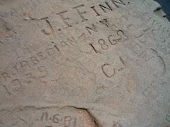 geological graffiti