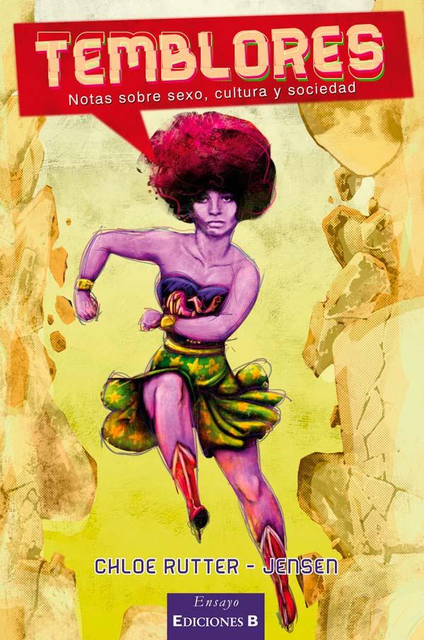 Diseño de portada de libro, Temblores por Hache Holguín