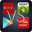 Mega Movie Showdown: A Thorough Comparison Of Movie Selections On Netflix, Amazon, Redbox Instant, And Google Play