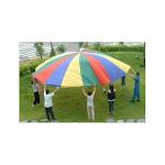 Everrich EVC-0074 30 ft. 4 Color Parachutes-24 Handles