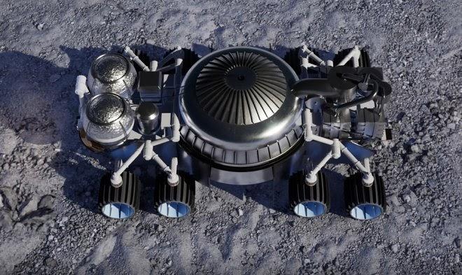 Будущие колонисты будут топить лунный лед ракетными двигателями