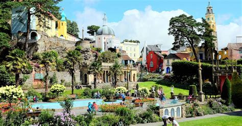Portmeirion Village tickets are FREE for St David's Day