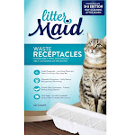 LitterMaid Disposable Waste Receptacles for Automatic Litter Boxes, 12 Count