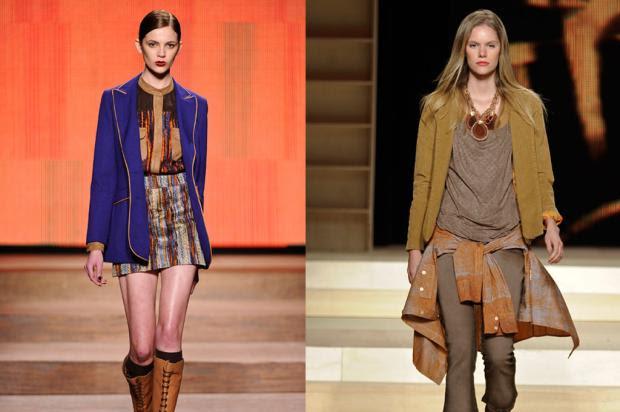 Tendências que vão ser moda na estação do frio em 2012 Agência Fotosite/