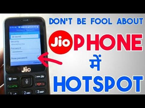 JIO Phone के सहारे कंप्यूटर में hotspot चलाने से पहले ये ज़रूर जान ले |