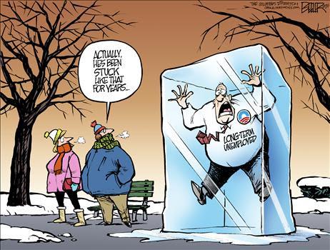 Cartoon Obama Unemployment 3