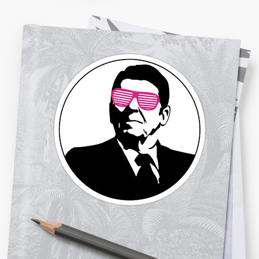 'Rockin' Ronnie' Sticker by Grafixfreak
