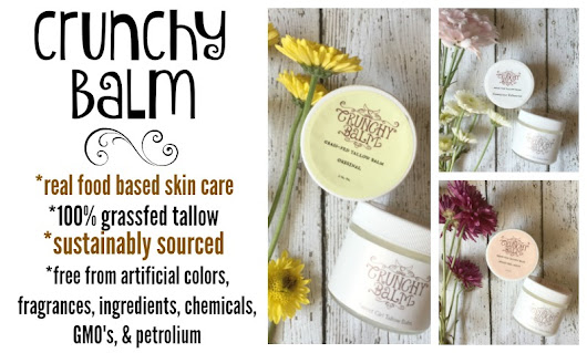 Safe Skin Care :: Crunchy Balm Tallow Balm Review - Raising Generation Nourished