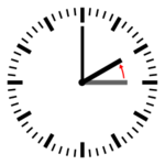 Diagram of a clock showing a transition from 03:00 to 02:00