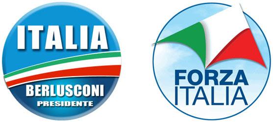 Forza Italia simboli mai nati