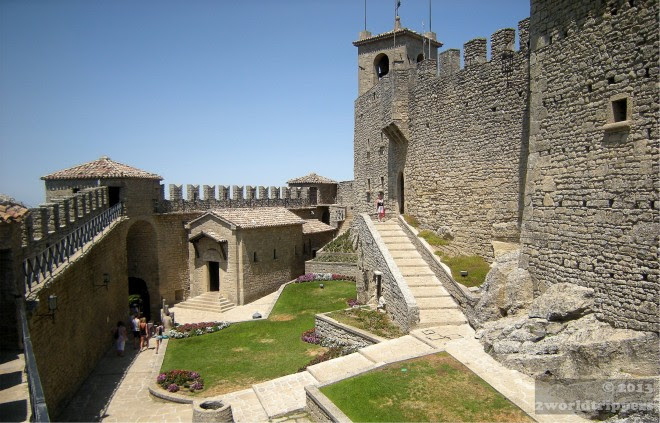 Courtyard of the tower