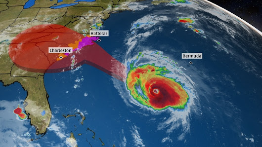Hurricane Florence Will Slow Down, Hammer Carolinas and Appalachia for Days with Catastrophic Flooding, Destructive Winds | The Weather Channel