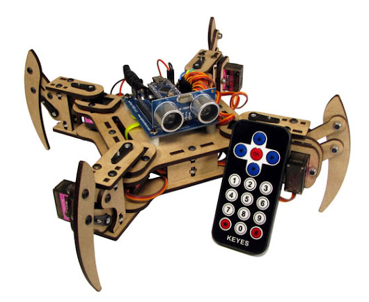 mePed v2 Quadruped Walking Robot - Educational Gizmos