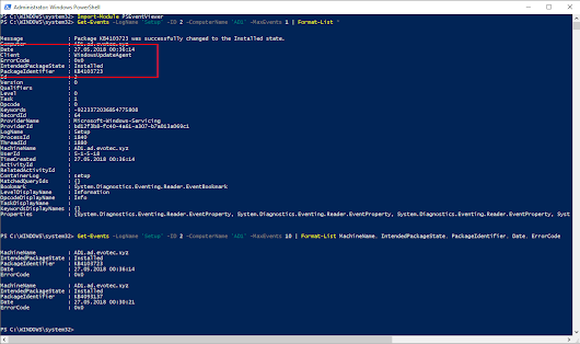 Working with Windows Events with PowerShell - Evotec