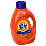 Tide 08886 He Regular Scent Liquid Detergent, 100 Oz