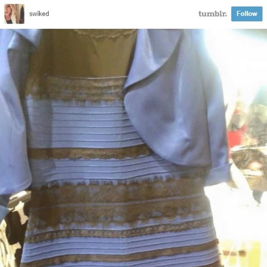#thedress and news values: an obligatory rough analysis