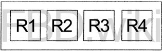 92 97 Ford F150 F250 F350 Bronco Fuse Diagram