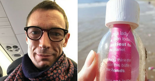 Man whose bottle messages washed up on Welsh beach ends up with 50 date offers