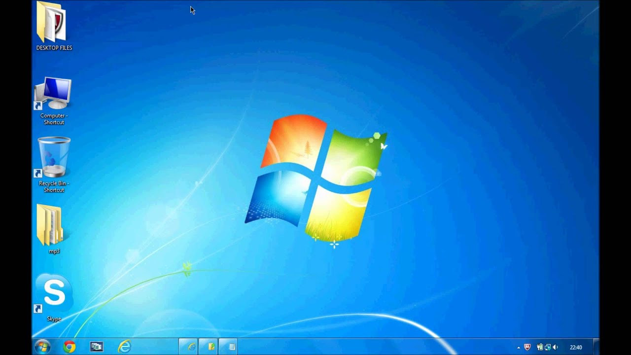 How to make desktop icons larger and smaller (windows ...