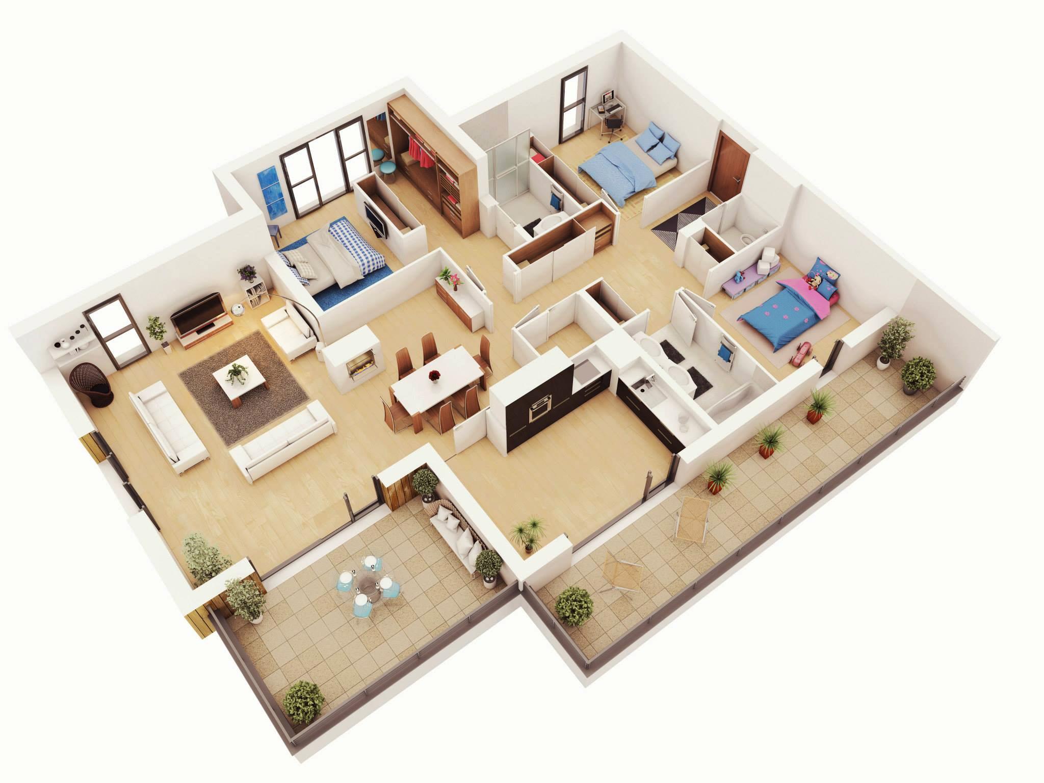 8 3 bedrooms