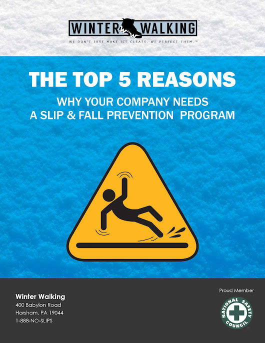 Top 5 Reasons Why Your Company Needs a Slip and Fall Prevention Program [FREE GUIDE]