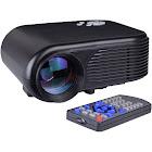 FB3502 180 Lumens 640x480 Mini LED Digital Projector with Hdmi, VGA & AV - Black