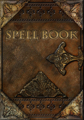 spell book grimoire witches wizardry
