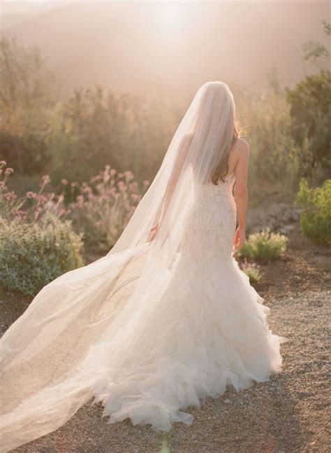 17 Best ideas about Long Wedding Veils on Pinterest   Long