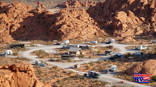 Put Your Boondocking Skills to the Test in the Valley of Fire, Nevada. National RV Detroit Blog