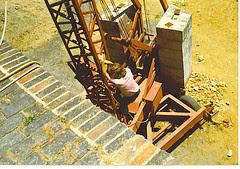 CT Castle Excavation - climbing down