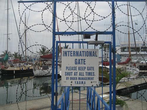 wired gate Durban