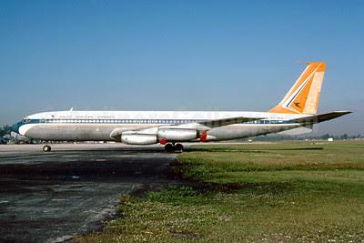 South African Airways Boeing 707-344 ZS-SAA (msn 17928) MIA (Bruce Drum). Image: 102875.