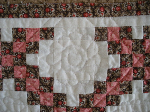 Double Trouble - Quilting Detail