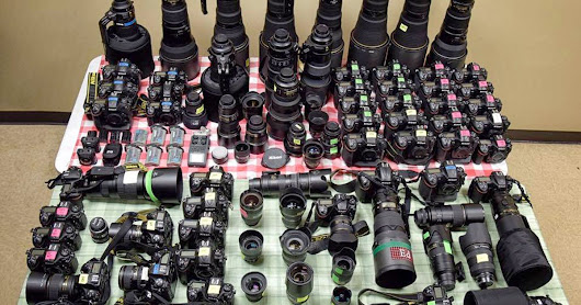 Here's One Photographer's Camera Kit at the Kentucky Derby