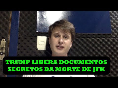 DOCUMENTOS SECRETOS DA MORTE DE KENNEDY LIBERADOS POR TRUMP