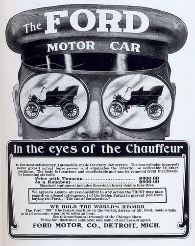 Ford ad, 1902