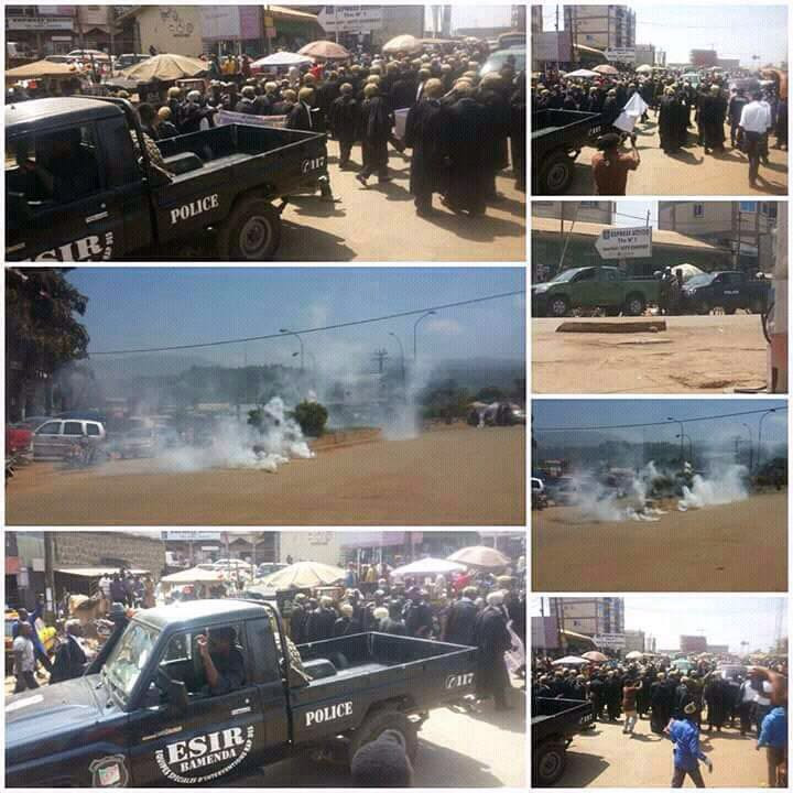 More chaos fro Bamenda (c) Kaah Aaron