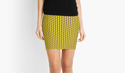 'Carpe Diem Feng Shui' Mini Skirt by Feng  Shui HOME