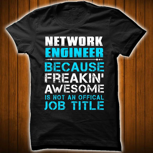 Network Engineer, because Freekin' Awesome is not an officel job title.