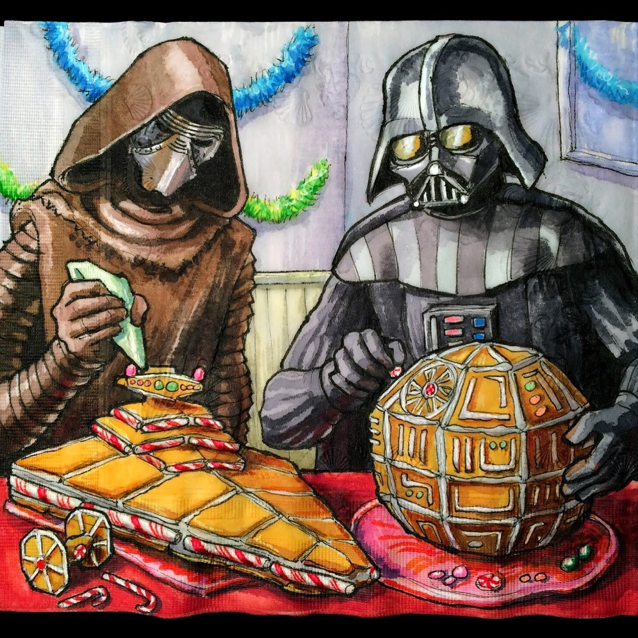Dark Side Gingerbread