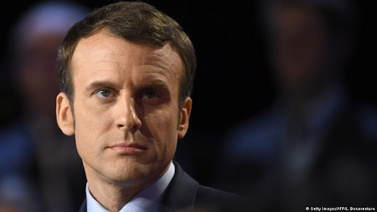 French presidential candidate Emmanuel Macron has campaign emails leaked one day before election | News | DW.COM | 05.05.2017